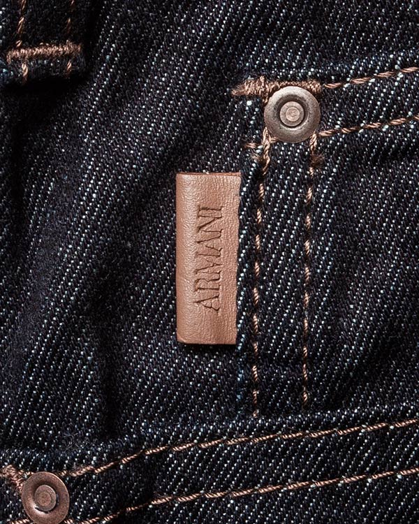 мужская джинсы ARMANI JEANS, сезон: зима 2016/17. Купить за 6400 руб. | Фото 4