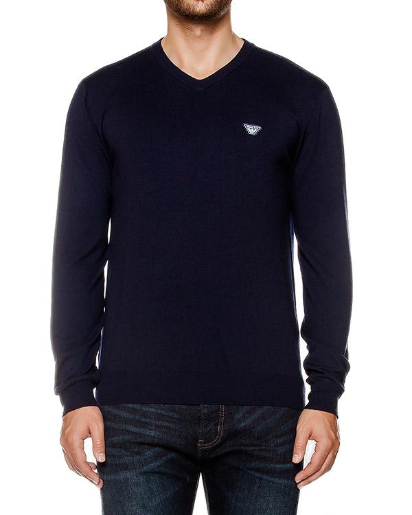 мужская пуловер ARMANI JEANS, сезон: зима 2016/17. Купить за 10500 руб. | Фото 1