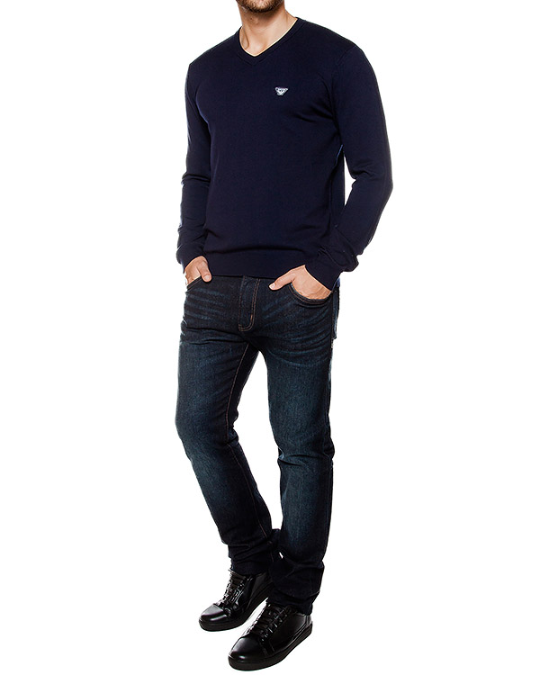 мужская пуловер ARMANI JEANS, сезон: зима 2016/17. Купить за 10500 руб. | Фото 3