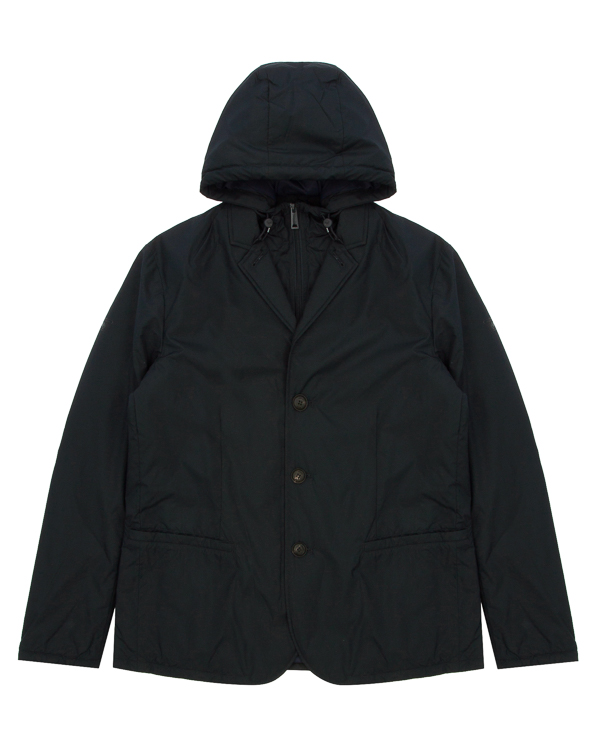 куртка демисезонная с капюшоном артикул 6Y6G72 марки ARMANI JEANS купить за 21900 руб.