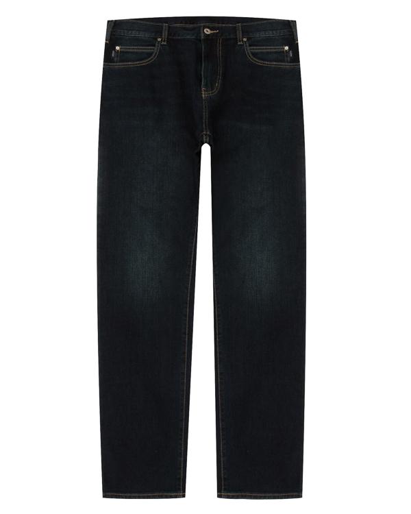 джинсы Regular из денима с контрастной строчкой артикул 6Y6J45-6DELZ марки ARMANI JEANS купить за 10300 руб.