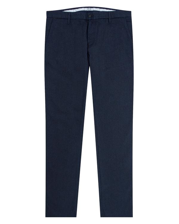 брюки прямого силуэта из плотного хлопка артикул 6Y6P15 марки ARMANI JEANS купить за 14800 руб.