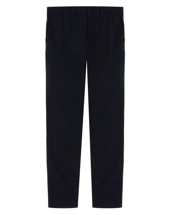 брюки зауженного силуэта из хлопка артикул 6Y6P68 марки ARMANI JEANS купить за 9500 руб.