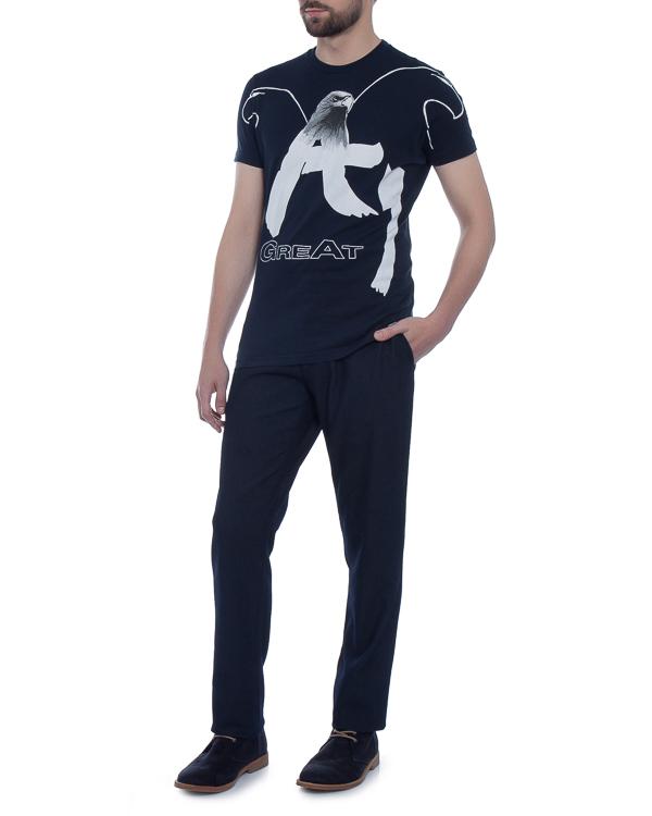 мужская футболка ARMANI JEANS, сезон: зима 2017/18. Купить за 7000 руб. | Фото $i