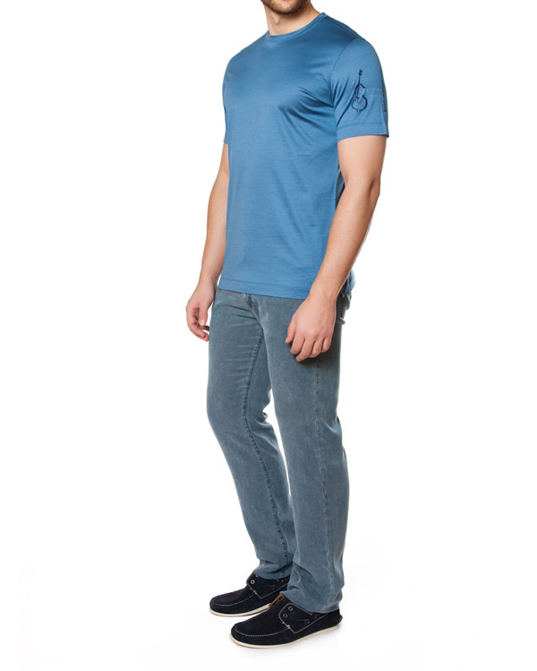 мужская джинсы Cortigiani, сезон: лето 2015. Купить за 14000 руб. | Фото $i