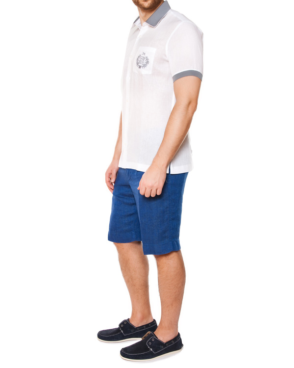 мужская рубашка Cortigiani, сезон: лето 2015. Купить за 20300 руб. | Фото 3