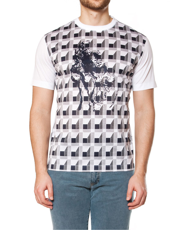мужская футболка Cortigiani, сезон: лето 2015. Купить за 7700 руб. | Фото $i