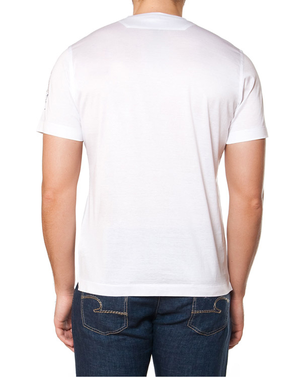 мужская футболка Cortigiani, сезон: лето 2015. Купить за 10800 руб. | Фото 2