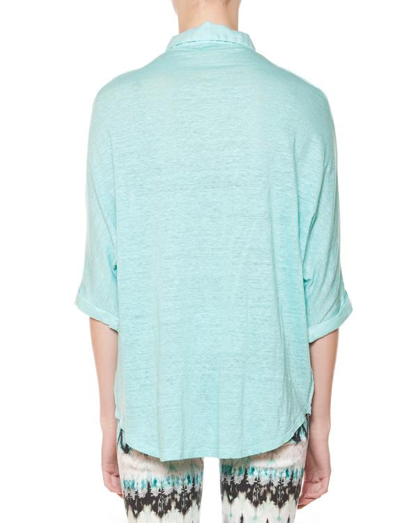 женская рубашка 120% lino, сезон: лето 2015. Купить за 6000 руб. | Фото 2