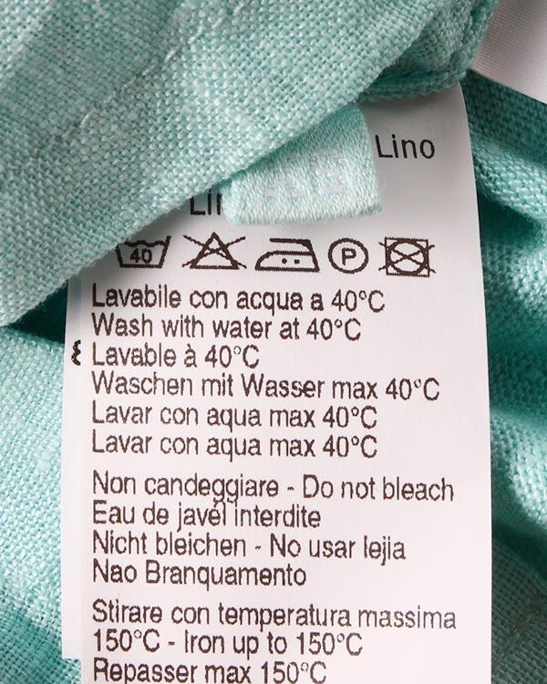 женская рубашка 120% lino, сезон: лето 2015. Купить за 6000 руб. | Фото 5
