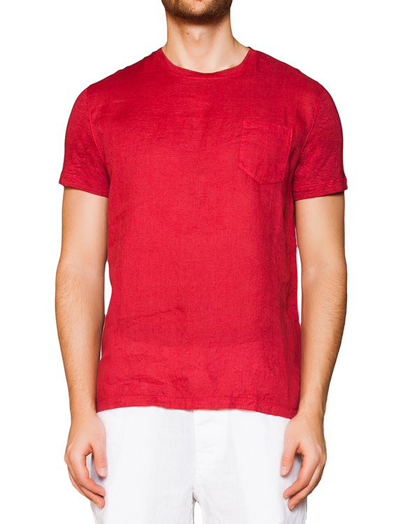 футболка из натурального льна артикул 7360E908 марки 120% lino купить за 4900 руб.
