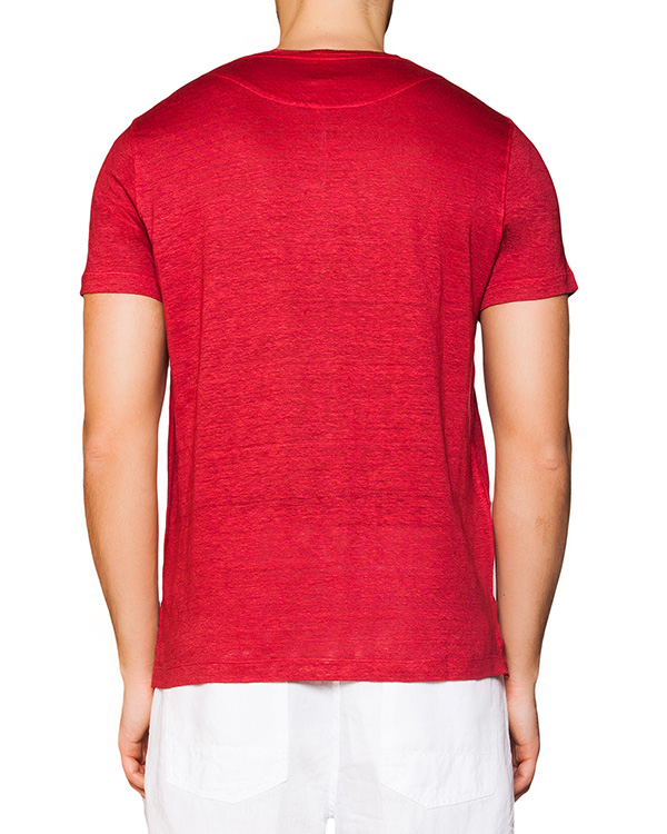 мужская футболка 120% lino, сезон: лето 2016. Купить за 4900 руб. | Фото 2