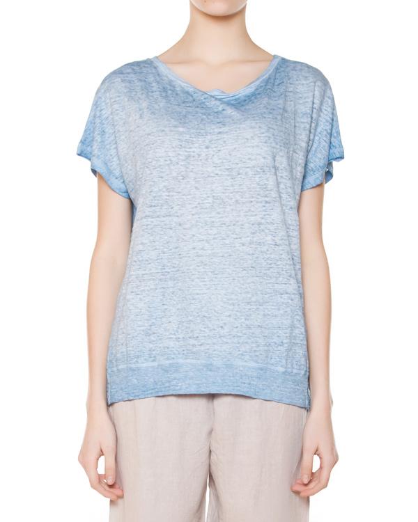 женская футболка 120% lino, сезон: лето 2015. Купить за 6000 руб. | Фото 1