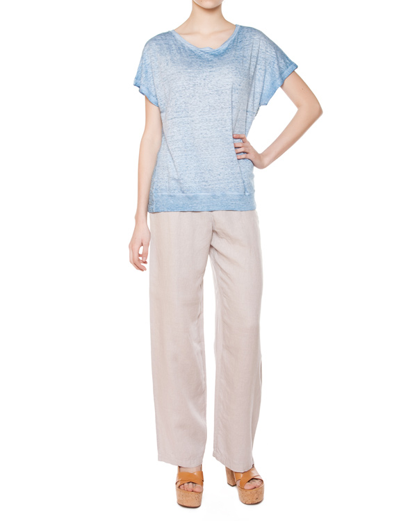 женская футболка 120% lino, сезон: лето 2015. Купить за 6000 руб. | Фото 3