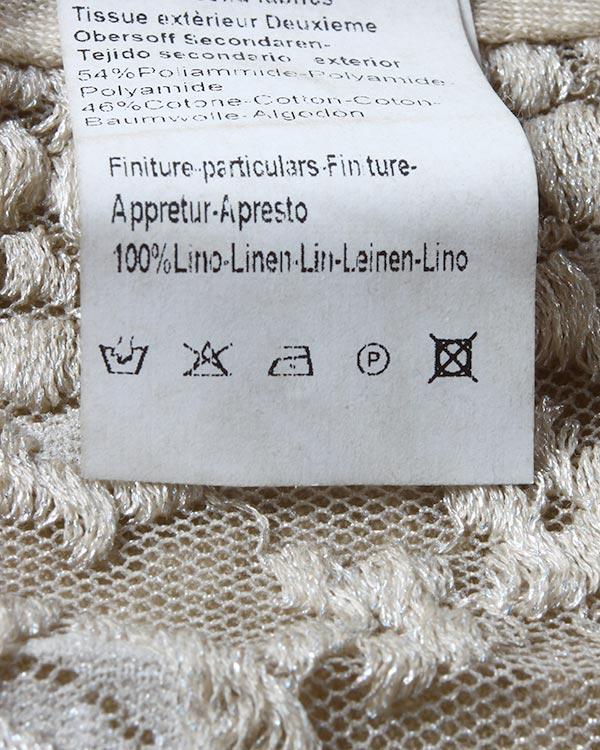 женская футболка 120% lino, сезон: лето 2015. Купить за 6000 руб. | Фото 5