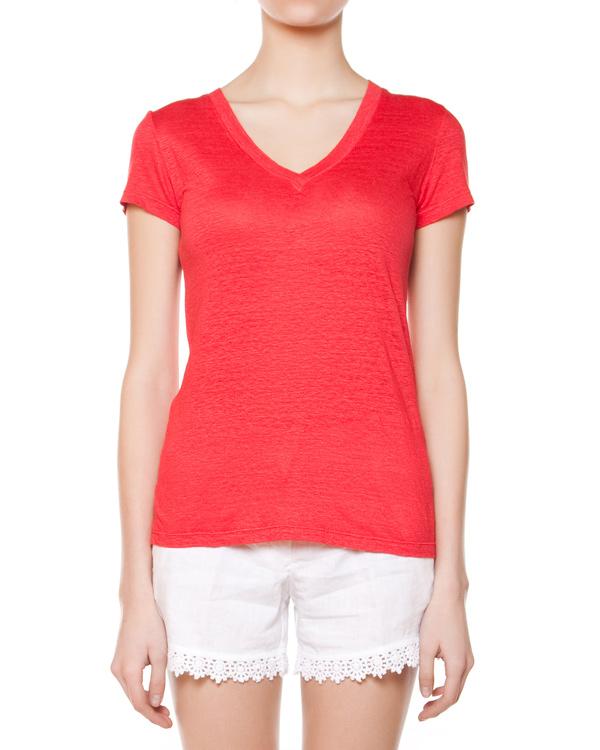 женская футболка 120% lino, сезон: лето 2015. Купить за 4300 руб. | Фото 1