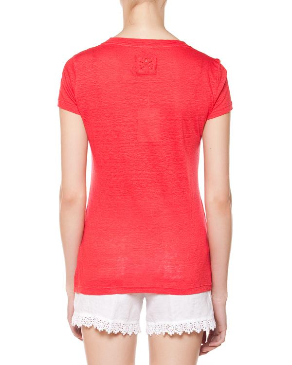 женская футболка 120% lino, сезон: лето 2015. Купить за 4300 руб. | Фото 2