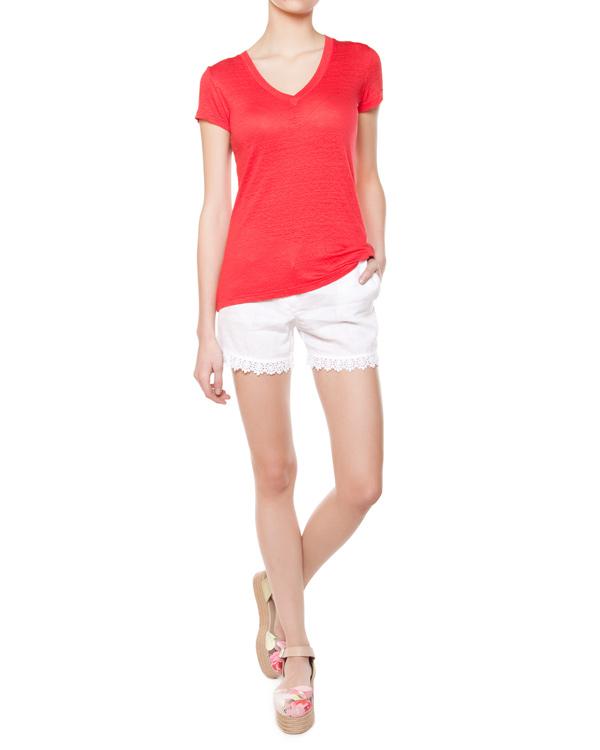 женская футболка 120% lino, сезон: лето 2015. Купить за 4300 руб. | Фото 3