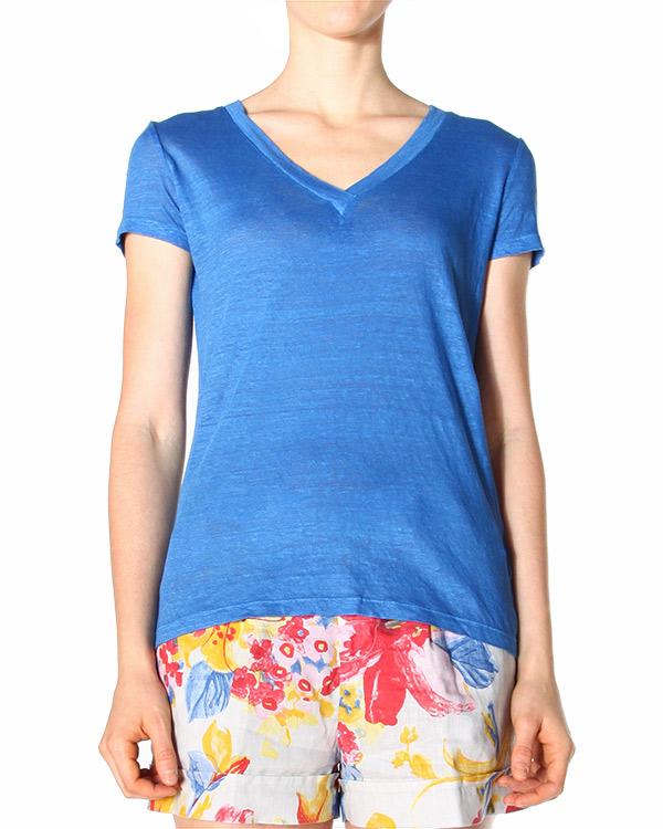 женская футболка 120% lino, сезон: лето 2015. Купить за 3400 руб. | Фото 1