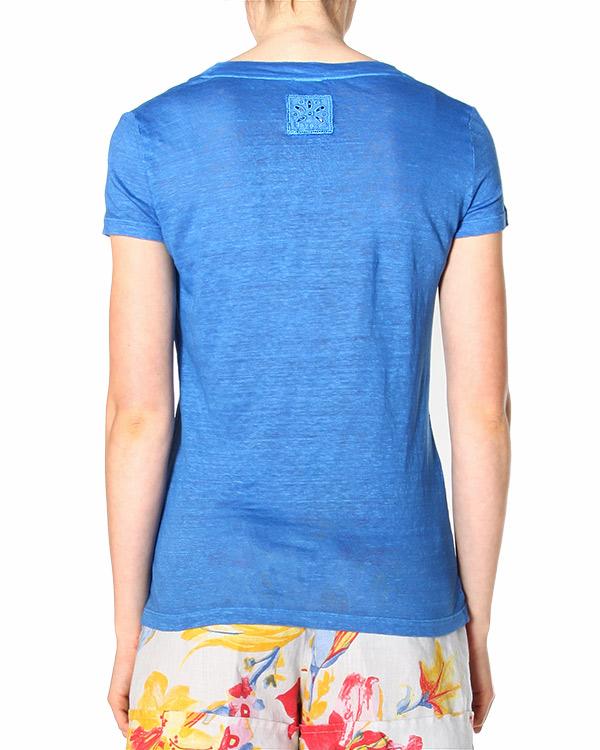 женская футболка 120% lino, сезон: лето 2015. Купить за 3400 руб. | Фото 2