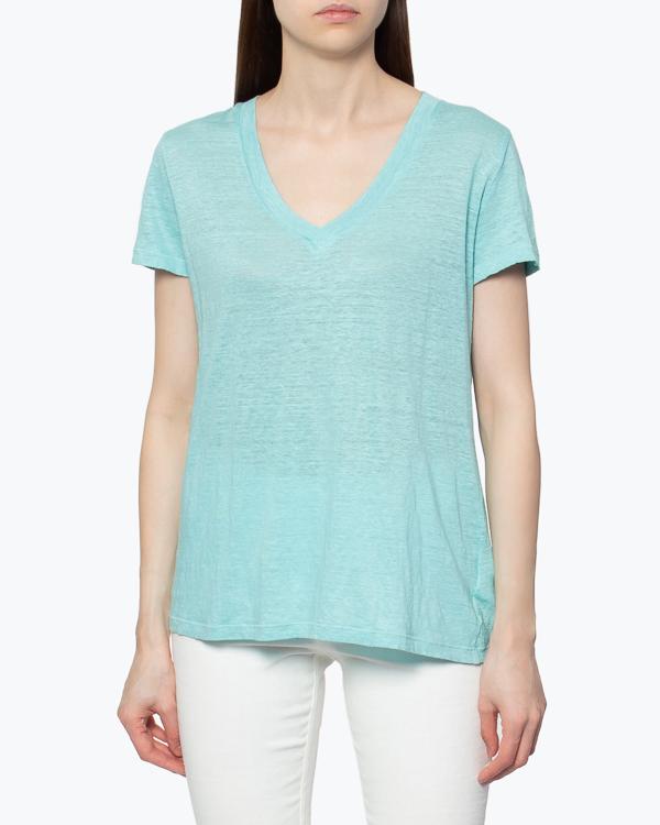 женская футболка 120% lino, сезон: лето 2015. Купить за 3400 руб. | Фото 3