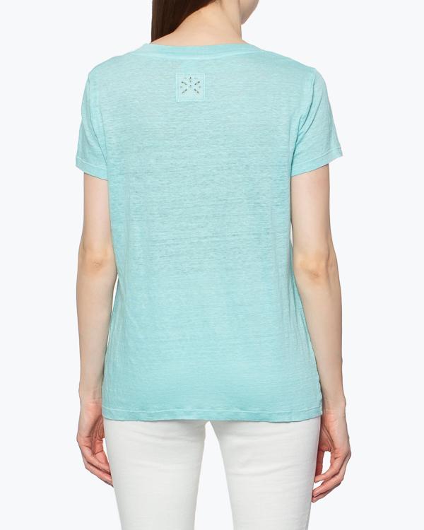 женская футболка 120% lino, сезон: лето 2015. Купить за 3400 руб. | Фото 4