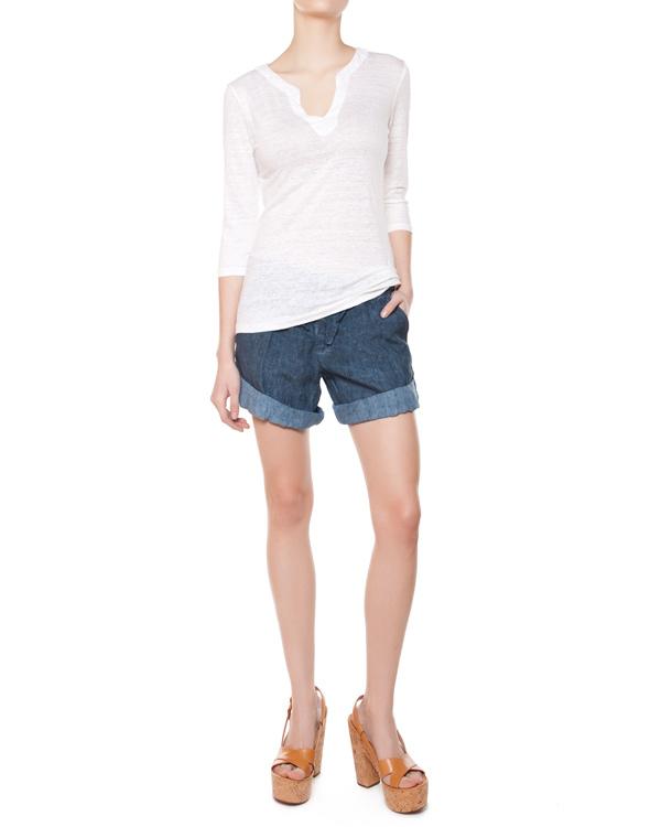 женская футболка 120% lino, сезон: лето 2015. Купить за 5200 руб. | Фото 3