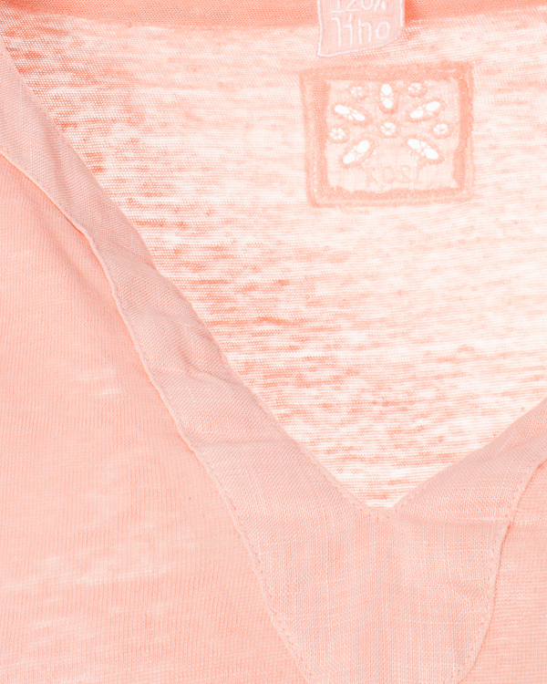 женская футболка 120% lino, сезон: лето 2015. Купить за 5200 руб. | Фото 5