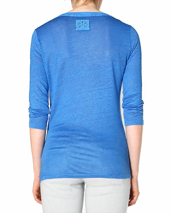 женская футболка 120% lino, сезон: лето 2015. Купить за 5200 руб. | Фото 2