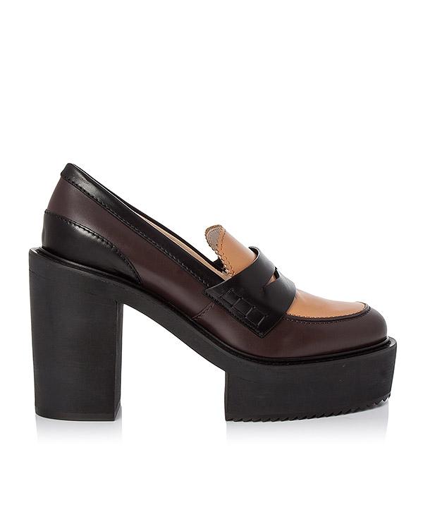 туфли из натуральной кожи артикул 8095 марки № 21 купить за 37900 руб.