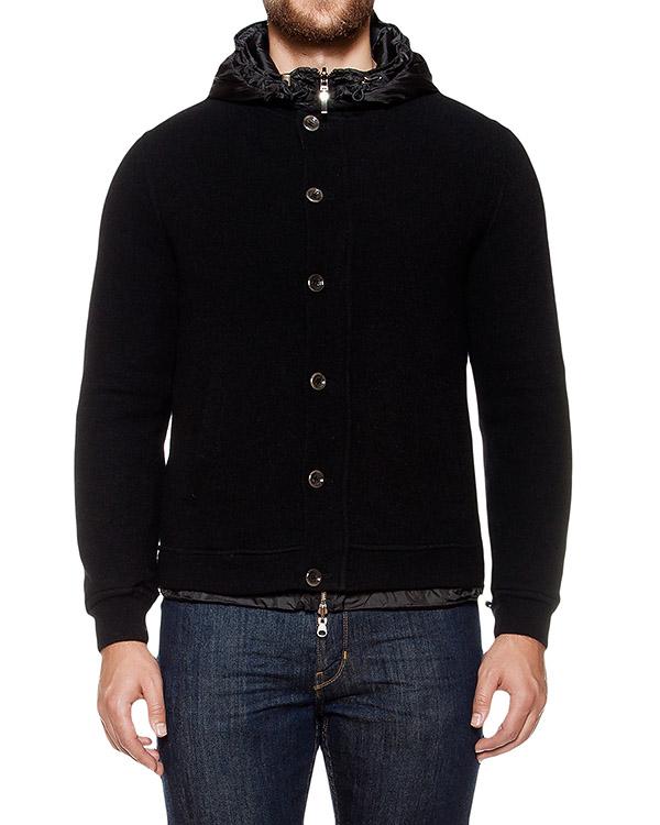 куртка двусторонняя; с внешней стороны из кашемира, с внутренней из водонепроницаемой стеганой ткани артикул 8167E823 марки 120% cashmere купить за 26300 руб.