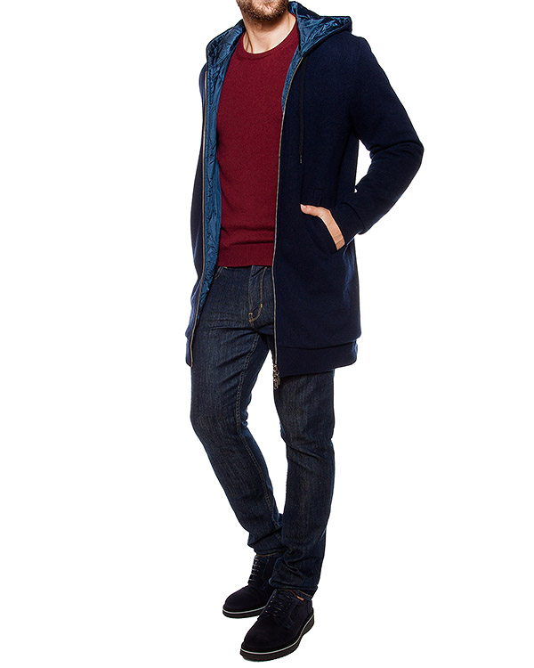 мужская пальто 120% cashmere, сезон: зима 2016/17. Купить за 26200 руб. | Фото 4