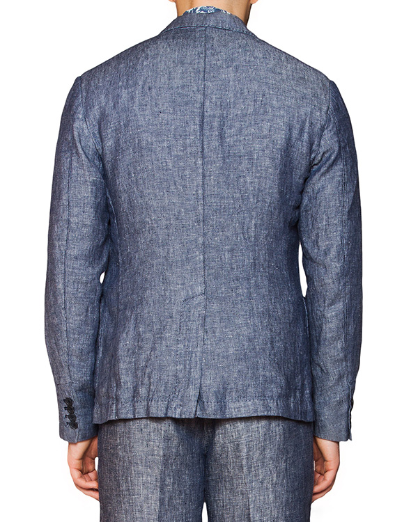 мужская пиджак 120% lino, сезон: лето 2016. Купить за 15000 руб. | Фото 2