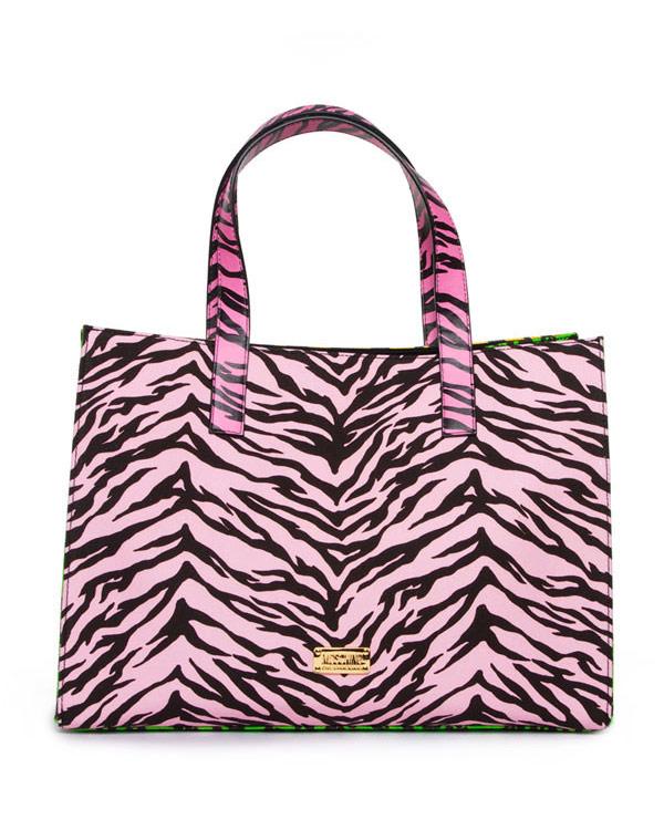 сумка из текстиля с принтом артикул 8A7513 марки CHEAP & CHIC купить за 15400 руб.