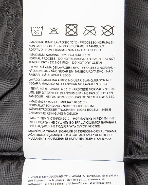 женская пуховик ARMANI JEANS, сезон: зима 2016/17. Купить за 26200 руб. | Фото 5