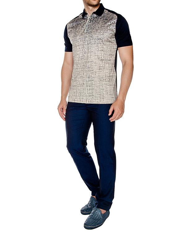 мужская брюки Cortigiani, сезон: лето 2016. Купить за 19700 руб. | Фото 3