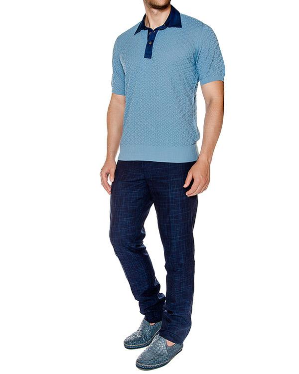 мужская брюки Cortigiani, сезон: лето 2016. Купить за 26800 руб. | Фото 3