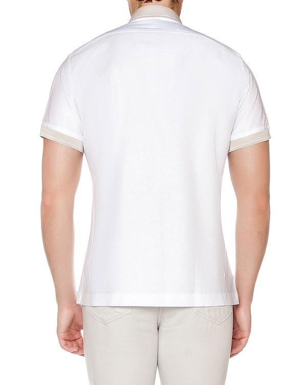 мужская рубашка Cortigiani, сезон: лето 2016. Купить за 20600 руб. | Фото 2
