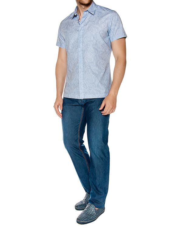мужская рубашка Cortigiani, сезон: лето 2016. Купить за 28100 руб. | Фото 3