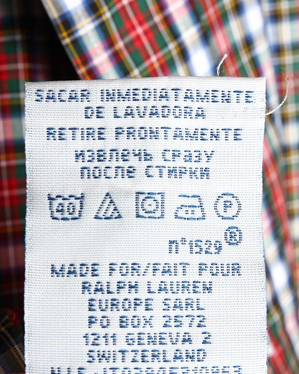 мужская рубашка Polo by Ralph Lauren, сезон: зима 2014/15. Купить за 5200 руб. | Фото 5