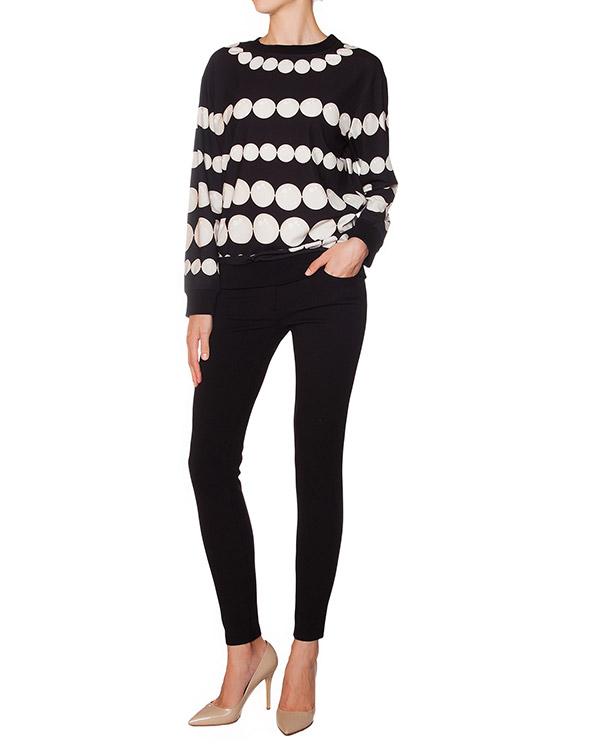 женская брюки Moschino Boutique, сезон: зима 2015/16. Купить за 14500 руб. | Фото 3