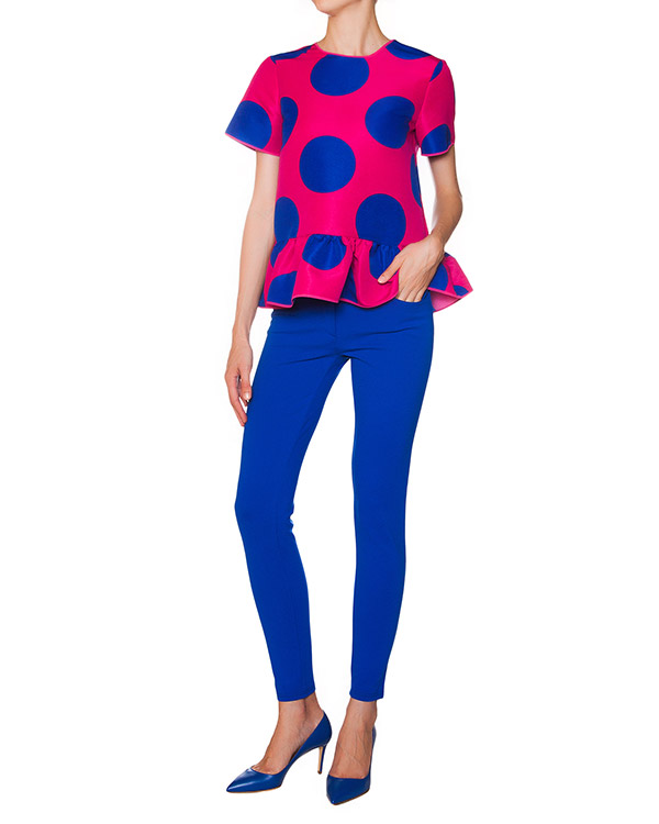 женская брюки Moschino Boutique, сезон: зима 2015/16. Купить за 10300 руб. | Фото $i