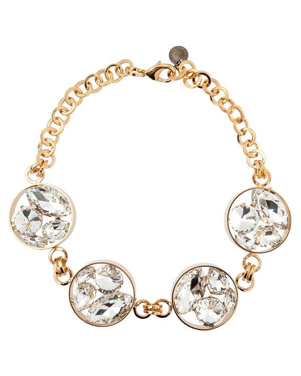 ожерелье с отделкой кристаллами Swarovski артикул A10M марки Marina Fossati купить за 11700 руб.