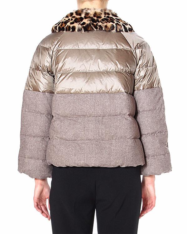 женская пуховик SILKANDSOIE, сезон: зима 2014/15. Купить за 26900 руб. | Фото 2