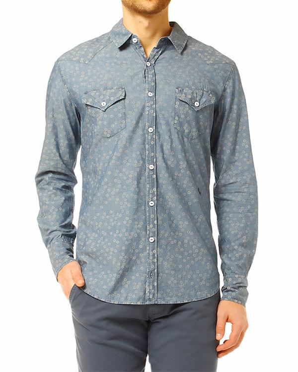 мужская рубашка REIGN, сезон: лето 2014. Купить за 6000 руб. | Фото 1