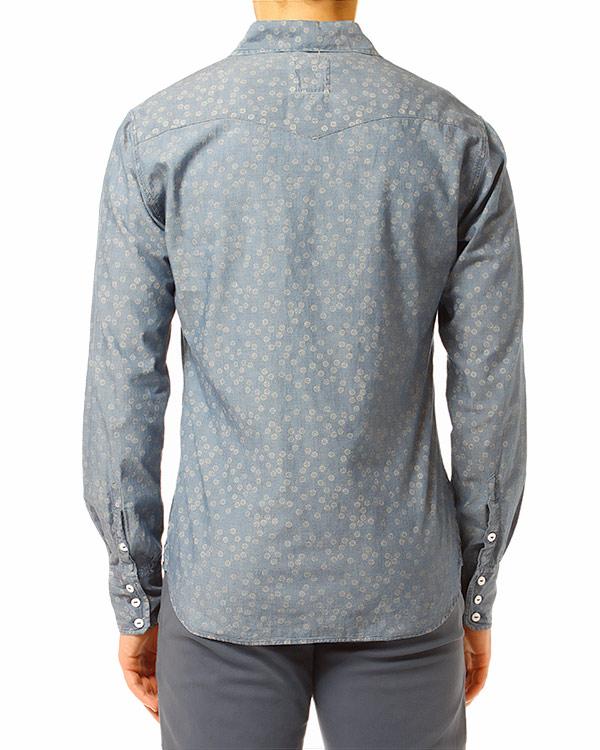 мужская рубашка REIGN, сезон: лето 2014. Купить за 6000 руб. | Фото 2