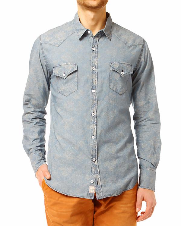 мужская рубашка REIGN, сезон: лето 2014. Купить за 6000 руб.   Фото 1