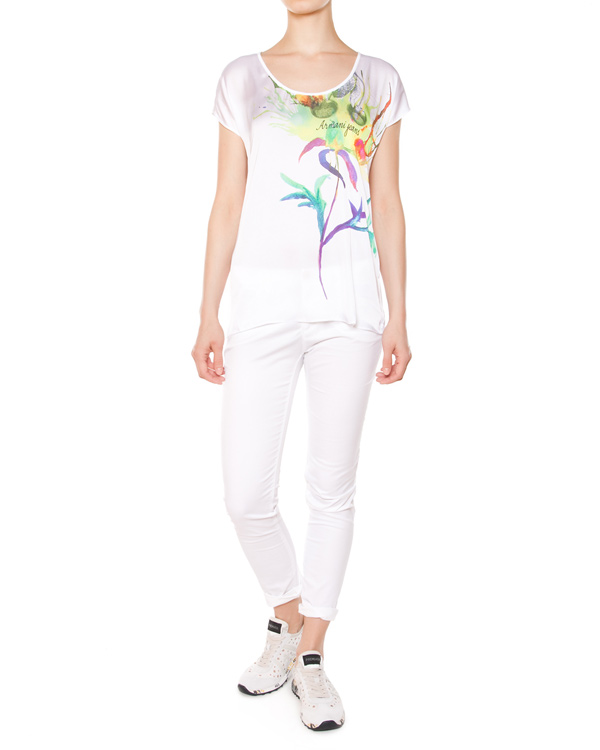 женская футболка ARMANI JEANS, сезон: лето 2015. Купить за 5700 руб. | Фото 3