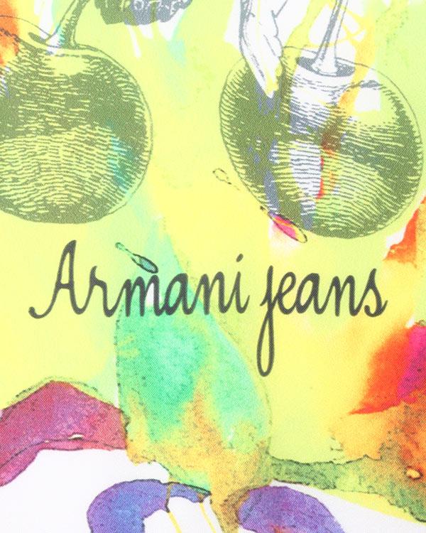женская футболка ARMANI JEANS, сезон: лето 2015. Купить за 5700 руб. | Фото 4