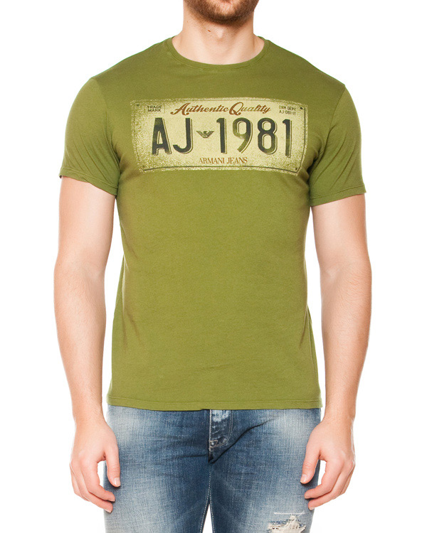 мужская футболка ARMANI JEANS, сезон: лето 2015. Купить за 3200 руб. | Фото 1